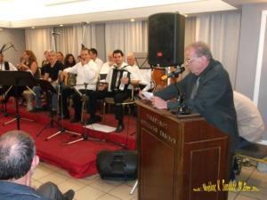 Ο πρόεδρος του Συλλόγου Ελλήνων Καίρου κ. Μιχάλης Μπίσκος