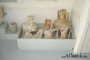 Οξυπύθμενοι αμφορείς. Βρέθηκαν στην θαλάσσια περιοχή της Κάσου- Υστεροκλασική-Ελληνιστική περίοδος