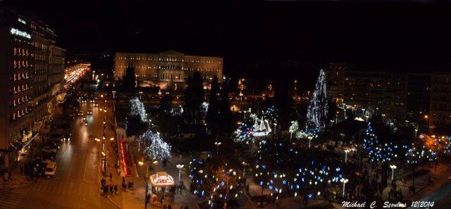 Πλατεία Συντάγματος _Panorama 3