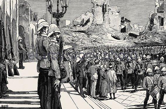 Τάγμα Σκώτων φρουρών στην Αλεξάνδρεια το 1882